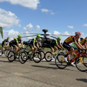 Pro cyclists take in Wattisham Flying Station