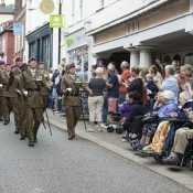 23 Para Engrs Freedom of Woodbridge Parade - 10 years