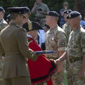 Ipswich Army Reservists - Medals Presentation