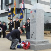 Seafarers Memorial unveiled - Ipswich Waterfront