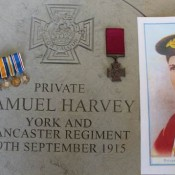 Pte Samuel Harvey VC - York and Lancaster Regiment