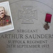 Sgt Arthur Saunders VC, Suffolk Regiment