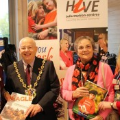 Veterans Event - Ipswich Mayor and his wife meet the HIVE